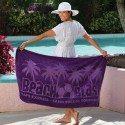 Lightweight Purple Beach Towel
