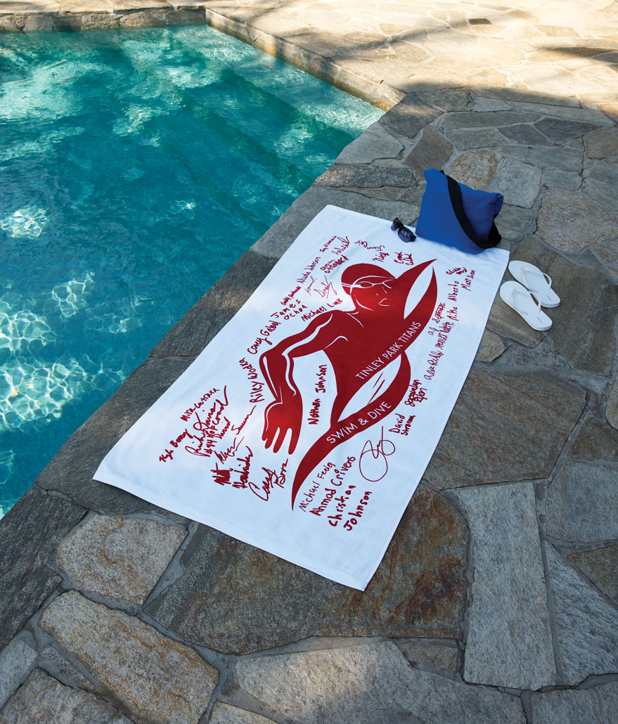 Family Beach Blanket: Beach Towel With Signature Printing Option