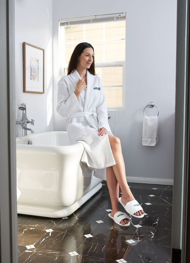 Spa, Robes and Slippers
