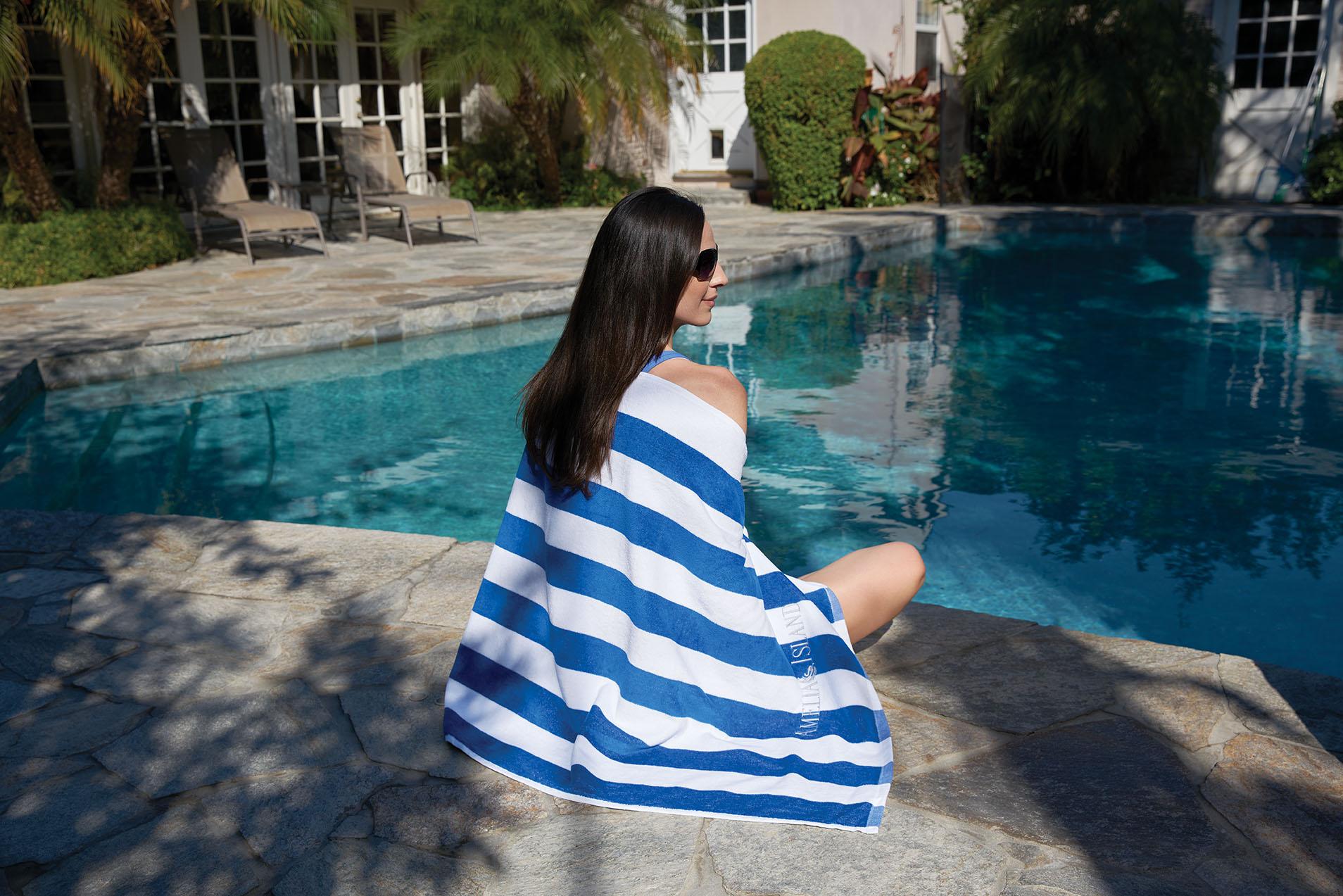 Cabana Striped Towels