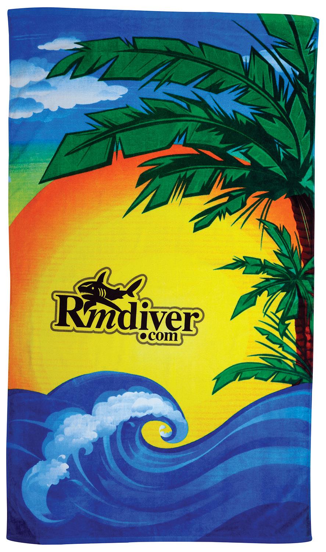 beach towel designs. Beach Scene Stock Design Towel Designs I