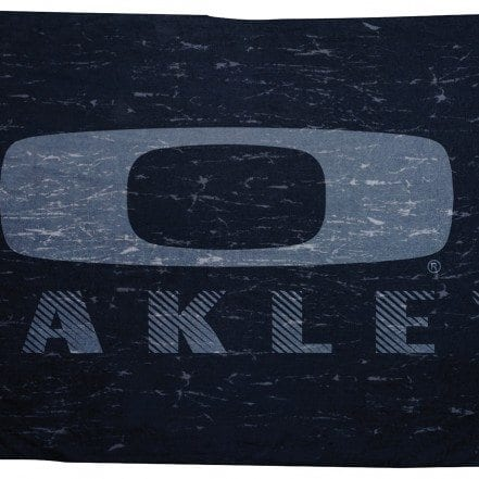 Black Distressed Beach Towel