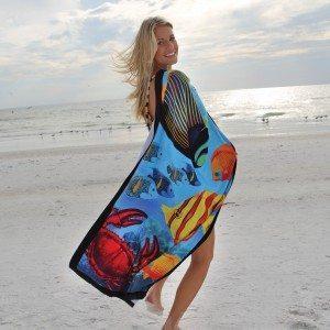 Fish Towel Stock Design