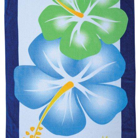 Large Hibiscus Beach Towel