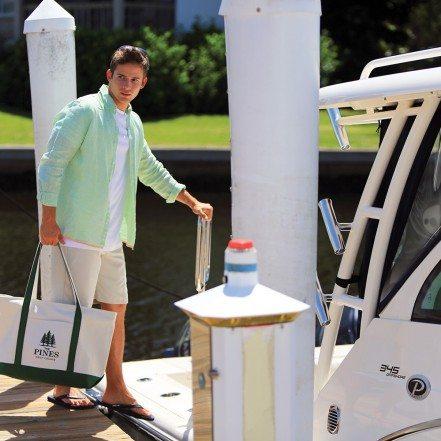 Premium Heavyweight Zippered Cotton Boat Tote