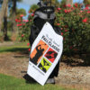 Lightweight Golf Towel with Corner Grommet