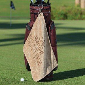 Heavyweight Golf Towel with Corner Grommet