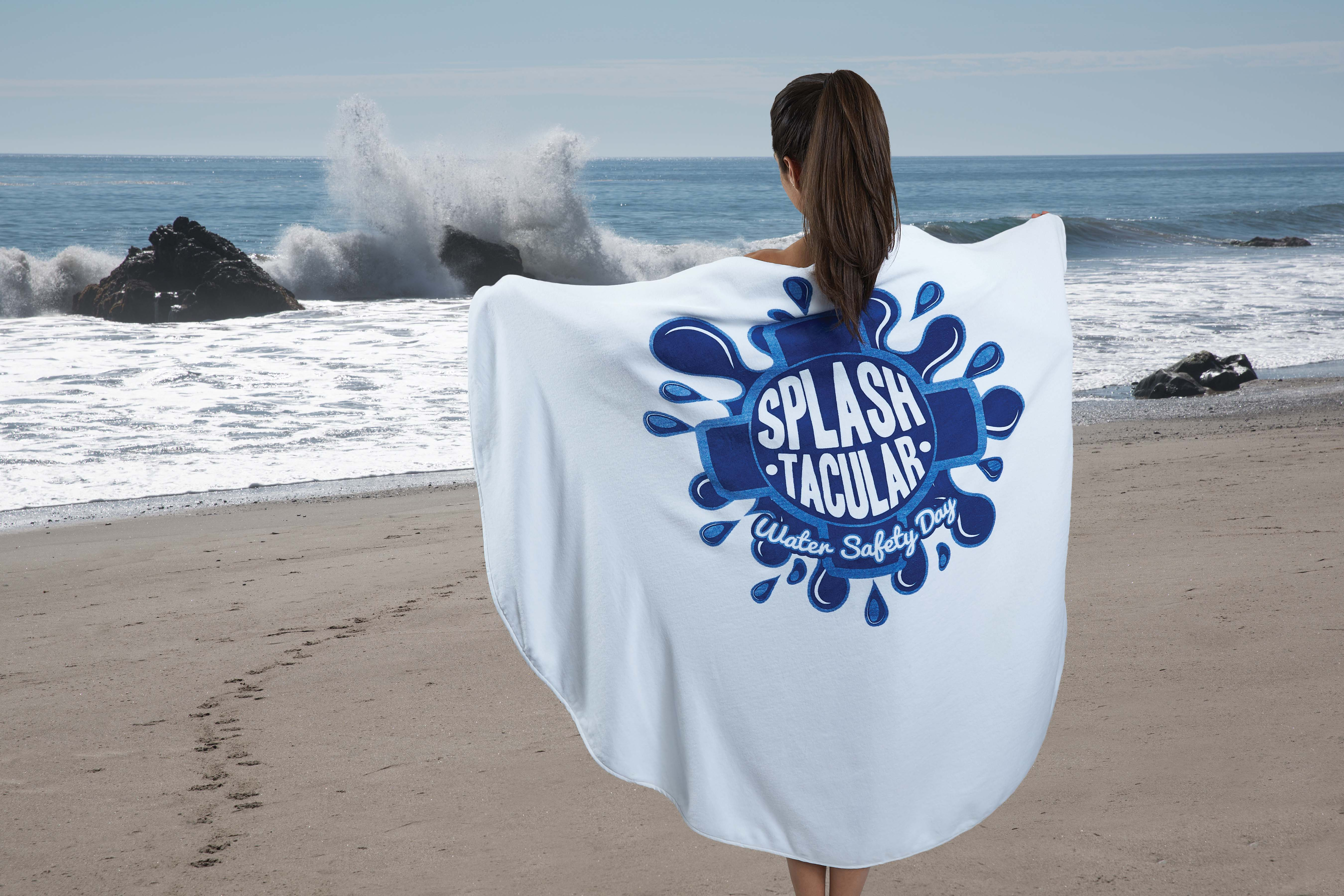 round beach towel pro towels