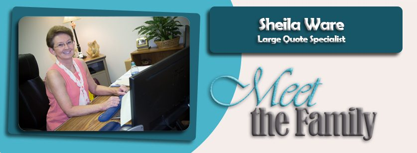 MEET THE FAMILY – SHEILA WARE