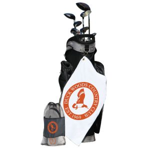 On and Off the Course Golf Kit