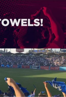 PRO TOWELS INCREASES RALLY TOWEL CAPACITY FOR PLAYOFF SEASON