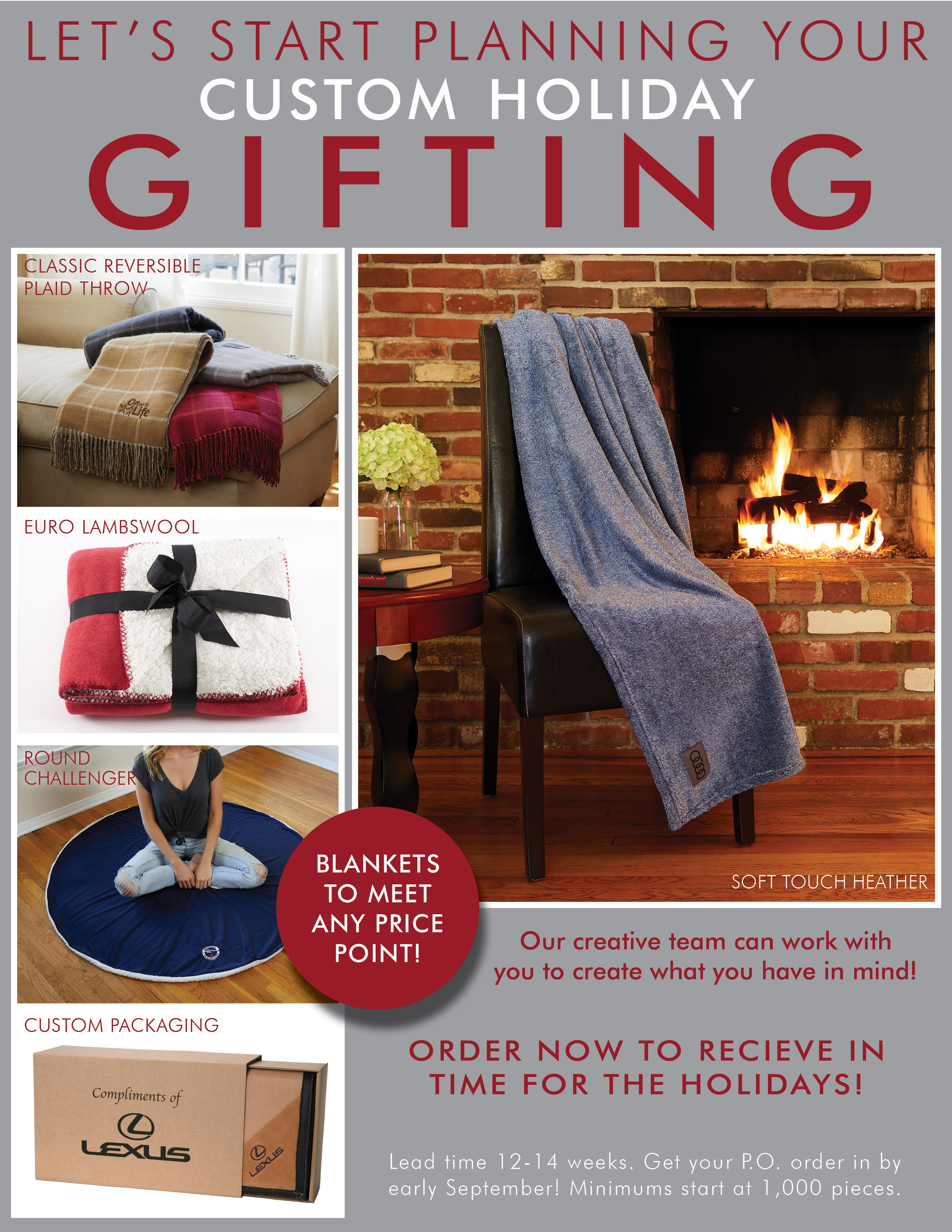 Custom Holiday Gifting